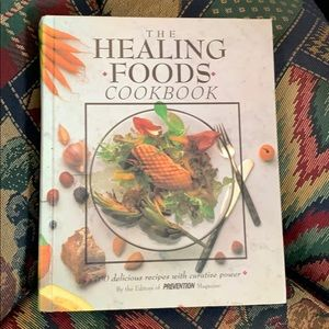 Other - The healing foods cookbook...firm.